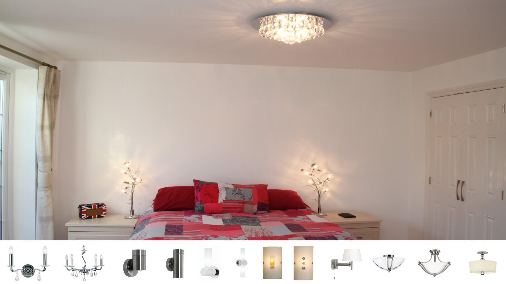 bedroom lighting bedding full interior style scheme image lights ideas light for modern